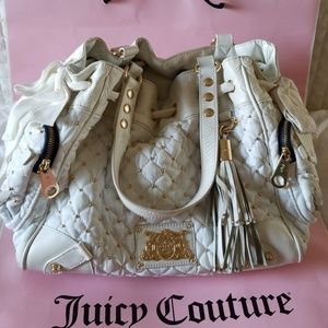 White Juicy Couture handbag